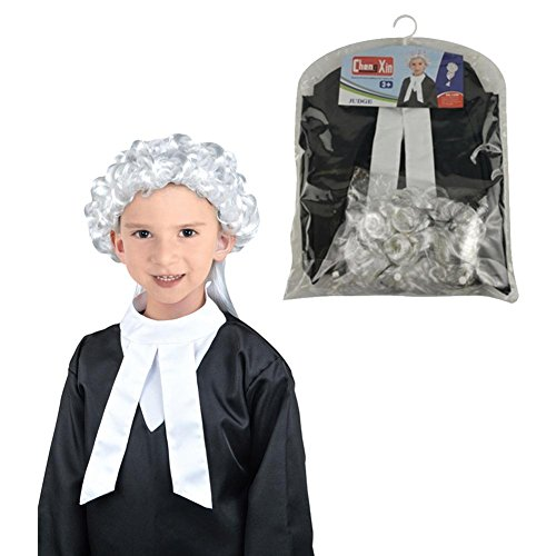 Lawyer Costume for Kids Lawyer Role Playing Costume Set Halloween Cosplay Costume Set Role Playing Set for Toddlers, Children's/Lawyer Role Play Toy Kit Cosplay Set for Party for -