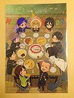 集合 9人 A5クリアファイル 進撃 巨人中学校 別冊少年マガジン 2015年12月号付録の商品画像
