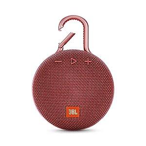 JBL Clip 3 - enceinte Bluetooth Portable avec Mousqueton - Étanchéité Ipx7 - Autonomie 10hrs - Qualité Audio JBL - Rouge 10