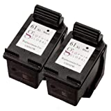 Sophia Global Remanufactured Ink Cartridge Replacement for HP 61XL (2 Black), Office Central