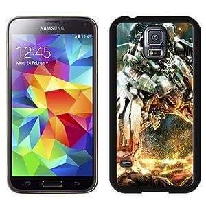 NEW Unique Custom Designed Samsung Galaxy S5 I9600 G900a G900v G900p G900t G900w Phone Case With Transformers Robot_Black Phone Case