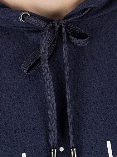 Bleu À shirt T Klein Homme Graphique Calvin Capuche O0xqa8UpKw