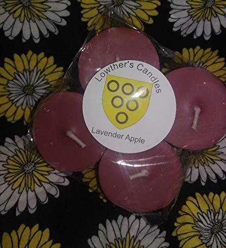 4 pack lavender apple votives