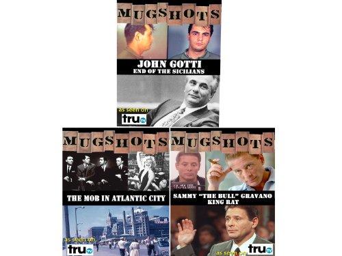 "Collection Mugshots: The Mob – John Gotti / Sammy (""The Bull"") Gravano / Atlantic City – 3 DVD (Amazon.com Exclusive)"