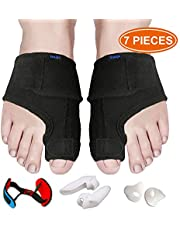 Bunion Corrector and Bunion Relief, Bunion Splint Pads for Hallux Valgus, Big Toe Joint, Hammer Toe, Toe Separators Spacers Straighteners