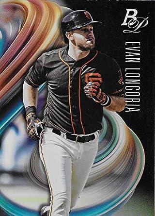 Amazon com: 2018 Bowman Platinum Baseball #91 Evan Longoria