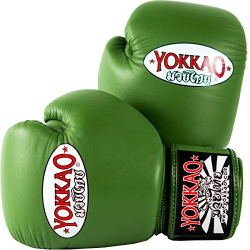 YOKKAO Matrix Breathable Muay Thai Boxing Glove - Black, Red, Blue, White, Yellow, Green, Grey - 2018]()