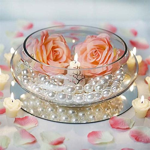Efavormart Clear Floating Candle Glass Vase Bowls for Wedding Party Birthday Centerpieces Home Decorations Supplies - 10