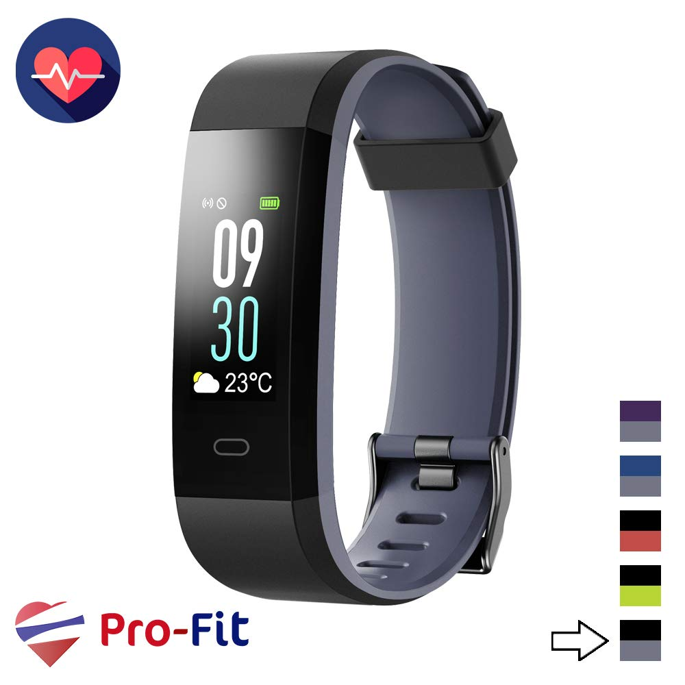 Pro-Fit VIP VeryFitPro Fitness Tracker Color Activity Tracker IP67 Waterproof Heart Rate Sleep Monitor ID115C
