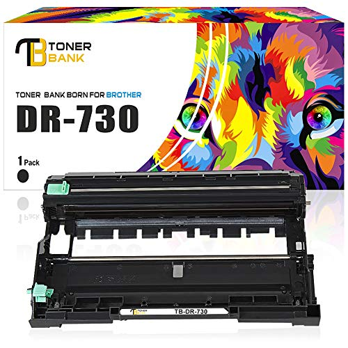 High Yield Drum Unit - Toner Bank Compatible High Yield Drum Unit Replacement for Brother DR 730 DR730 for Brother HL-L2350DW HL-L2370DW HL-L2370DWXL HL-L2390DW HL-L2395DW DCP-L2550DW MFCL2710DW MFCL2750DW MFCL2750DW