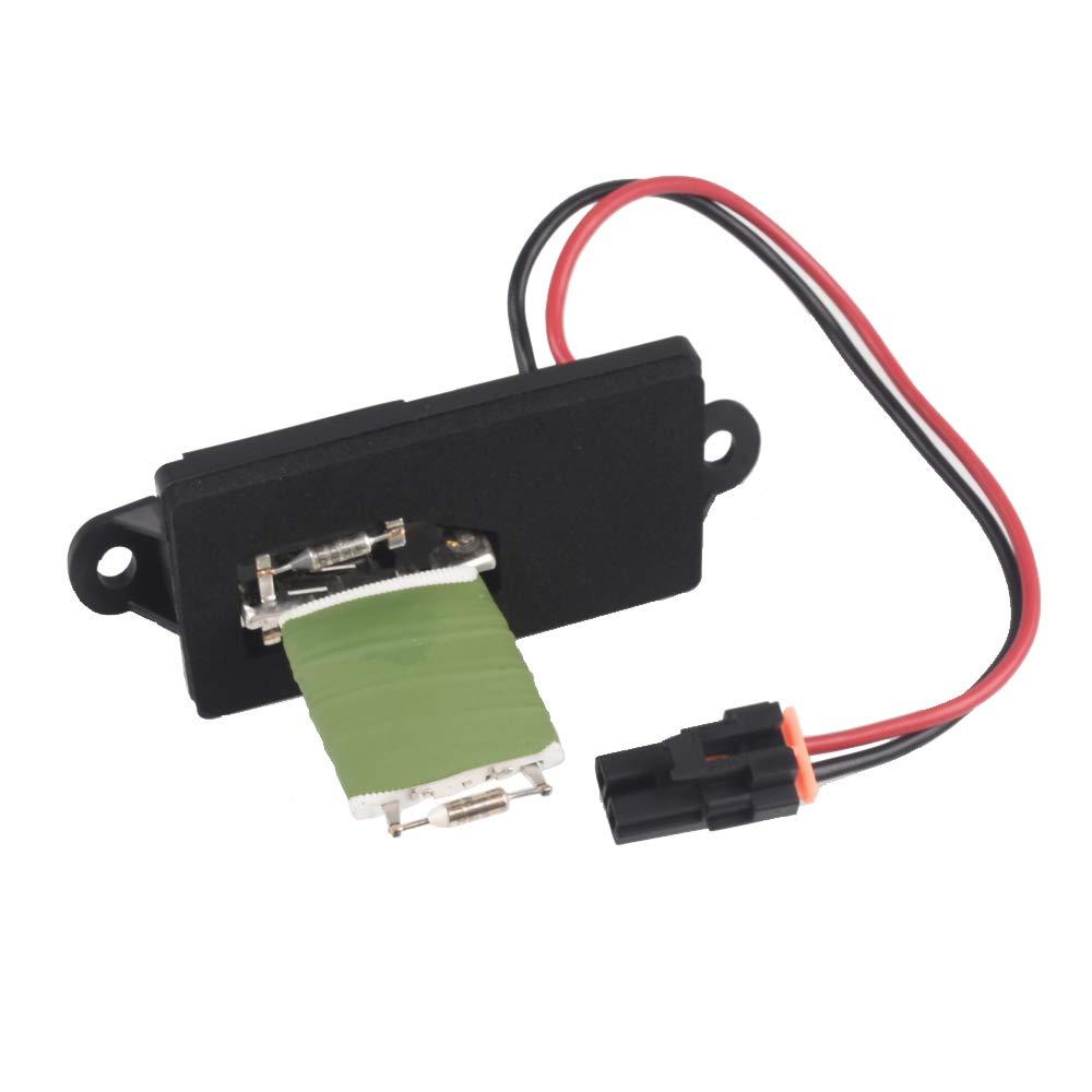 Auto-Partner Car Blower Motor Resistor Replacement for Chevrolet Silverado for GMC Sierra for Cadillac Escalade EXT 89019089 22807122 QXTInc