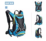 Cheap Snail Shop 15l Waterproof Outdoor Riding Backpack Bag Daypack Hiking Camping Travel Bag 5 Colors(blue)