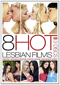 8 Hot Lesbian Films (8 film, 3 DVD set) [Reino Unido]
