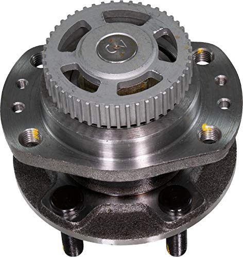 """APDTY 512155 Wheel Hub Bearing Assembly Fits Rear Left or Rear Right 1996-2000 Dodge Caravan or Grand Caravan Plymouth Voyager or Grand Voyager (EXCEPT AWD; With Drum Brakes & 14"""" Wheels)"""