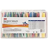 Shrink Tubing Kit, Bl, R, W, Y, B, G, C, 133 Pc