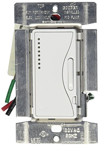 EATON Wiring Devices RF9537-NAW Aspire RF 1000W Fluorescent ELV Smart Dimmer, Alpine White