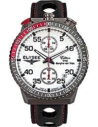 ELYSEE Men's 80517MMW Graf Berghe von Trips Analog Display Quartz Black Watch