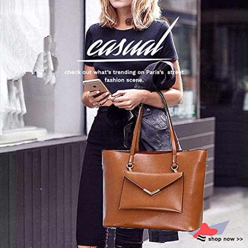 Women Tote Satchel Purses and Wallets YNIQUE for a Brown Bags Shoulder Handbags XF0Wx