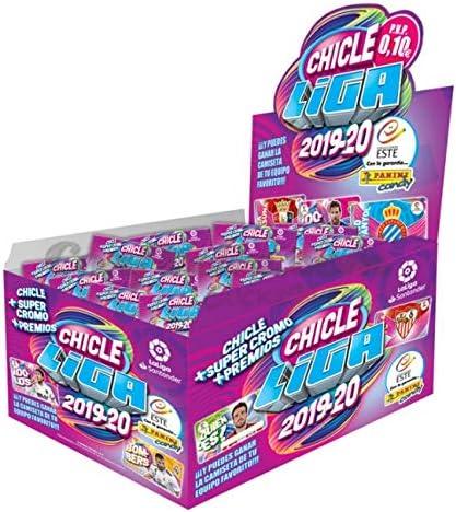 Panini Caja de chicles (200 cromos) Liga Este 2019 2020 LA Liga: Amazon.es: Juguetes y juegos