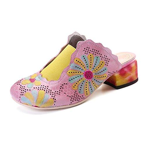Chaussures Brunes Avec Nez Crocs Ronds Pour Les Femmes Sm77YWH