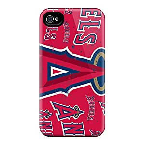Durable Cell-phone Hard Covers For Iphone 6plus (wxQ2599ohin) Support Personal Customs Realistic Los Angeles Angels Pattern