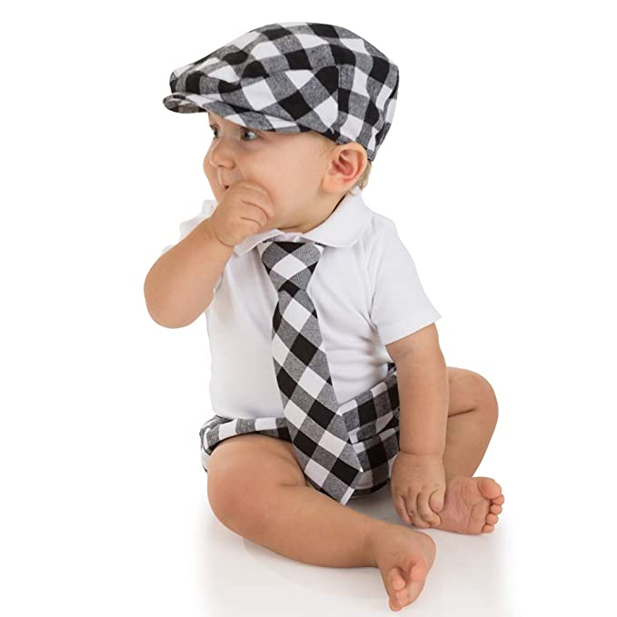 a000b60c20e juDanzy baby boys gift box cabbie hat set  Amazon.ca  Clothing ...