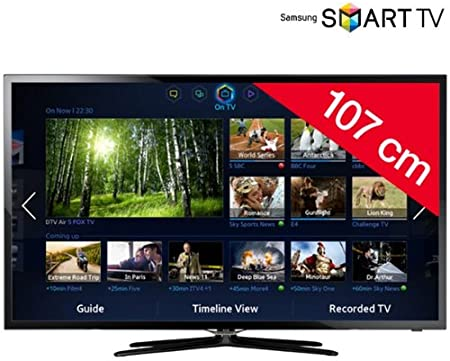 Samsung UE42 F5500 – Televisor LED Smart TV: Amazon.es: Electrónica