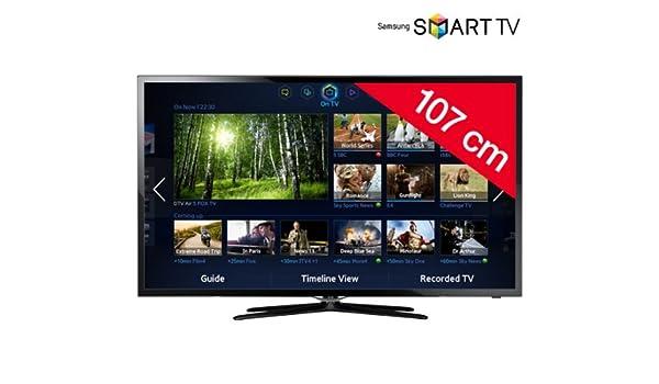 SAMSUNG Televisor LED Smart TV UE42F5500 + Cable HDMI 1.4 F3Y021BF2M: Amazon.es: Electrónica