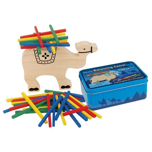 Classic Wooden Camel Balancing Game In A ()