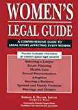 Women's Legal Guide, Barbara R. Hauser, 1555913032