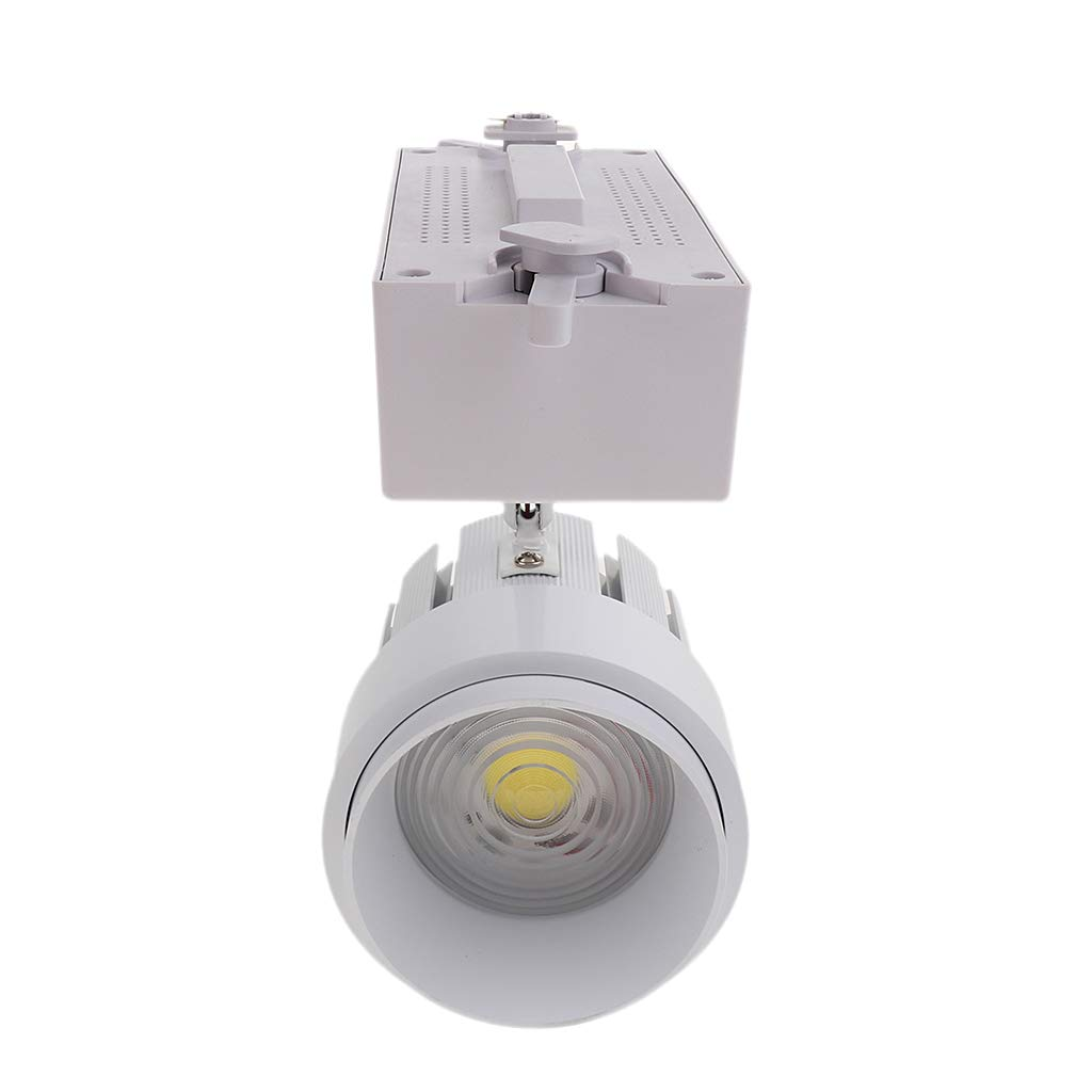 Homyl 15W/30W LED Track Rail Stand Spot Wall Chandeliers Track Light 85-265V - 30W White