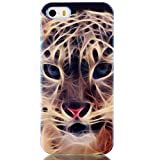 Cuitan Premium Quality TPU Soft Case Cover for Apple iPhone 6 / 6S (4.7 Inch), Fashionable Reflex Blue Ray Back Cover Slim Protective Case Cover Shell Sleeve for iPhone 6 / 6S (4.7 Inch) - Tiger