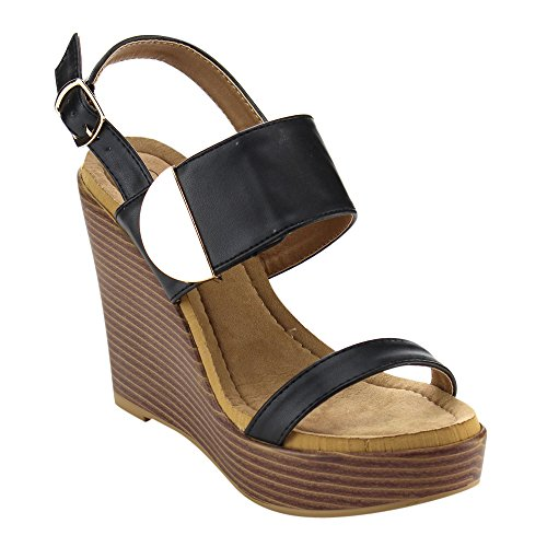 Closed Back Platform Sandal - 9