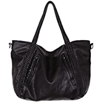 Big Capacity Fashion Women Handbags Soft Leather Lady Tote bag Woven Pattern Shoulder Bag