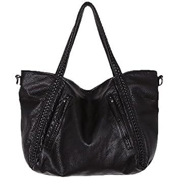 Amazon Com Big Capacity Fashion Women Handbags Soft Leather Lady