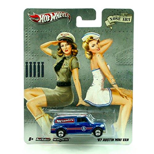 Series 1 Mini Vehicles ('67 AUSTIN MINI VAN * NOSE ART * Hot Wheels 2011 Nostalgia Series 1:64 Scale Die-Cast Vehicle)