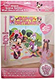 Amscan Disney Minnie Mouse Birthday Party Scene Setters Decoration (5 Pack), Multi Color. Others Supplies , 60 Pieces