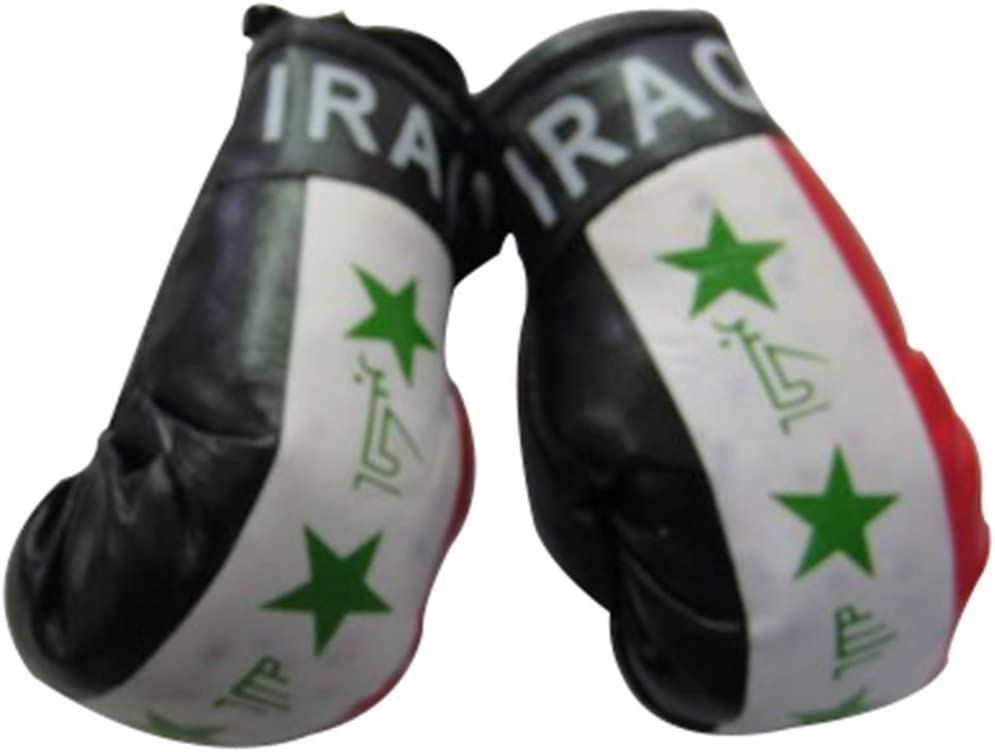 AFGHANISTAN FLAG Mini Boxing Gloves Ornament BRAND NEW