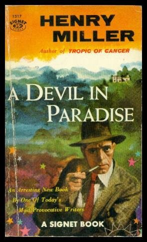 A DEVIL In PARADISE. Signet 1317.