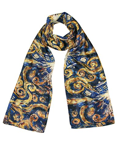 TARDIS Exploding (The Pandorica Opens)-Official BBC Doctor Who Scarf by LOVARZI