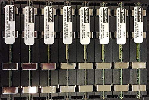 64GB ( 8 X 8 GB ) RAM Memory APPLE MAC PRO 2008 3,1 and 3,2 (2.8 3.0 3.2) (DDR2 800MHz PC2-6400 ECC FB DIMM) ECC Fully Buffered (Fb Dimm Ram Memory)