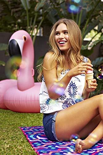Sunnylife Luxury Adult Inflatable Pool Float Ride On Beach Toy - Pink Flamingo by SunnyLIFE (Image #2)