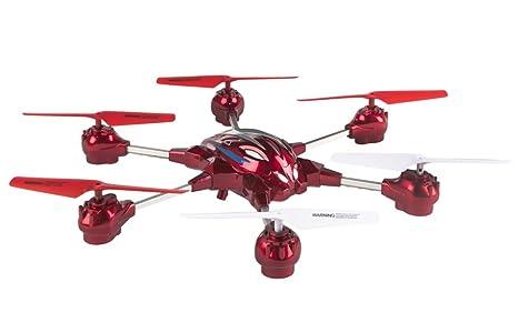 Sky Rover - Hexadron teledirigido 4 canales y 6 ejes, 34x34 cm ...