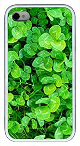 iphone covers Shamrock DIY Custom Rubber(TPU) white Cell iphone Case for Iphone 6 4.7 by Cell iphone Cases & Mousepads