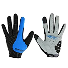 Winter Windproof Thermal Bicycle Full Finger Gloves Outdoor Mountain Bike Riding Gloves Breathable Camping Hiking Gloves