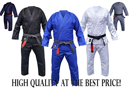 Your Jiu Jitsu Gear Brazilian Jiu Jitsu Premium Blue BJJ Uniform A1