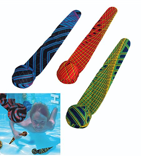 COOP Hydro Dive Streamers Pool Dive Toy - 3 - Xbox Lacrosse