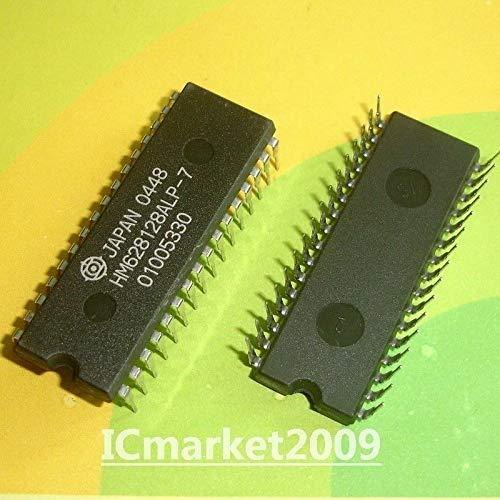FidgetKute 5 PCS HM628128ALP-7 DIP HM628128 131,072-word X 8-bit High Speed CMOS Static RAM
