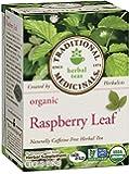 Traditional Medicinals Organic Raspberry Leaf Tea, 16 Tea Bags (Pack of 6)