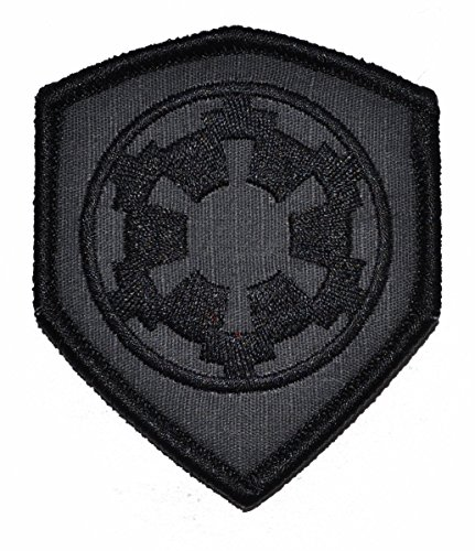 Galactic Empire Imperial Seal 3x2.5 Shield Morale Patch - Mu